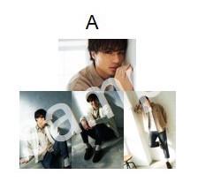 ブロマイド写真セット(A〜C)